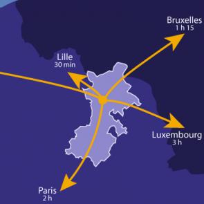 La Porte du Hainaut : Localisation