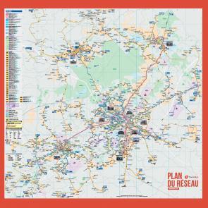 Plan du réseau septembre 2015